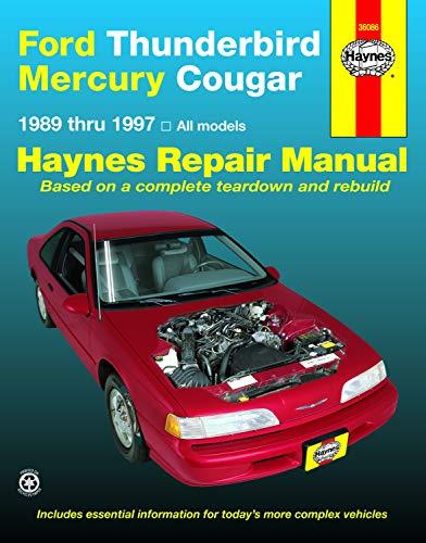 Ford Thunderbird & Mercury Cougar '89'97 (Haynes Repair Manuals)