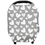 YOOFOSS Baby Car Seat Covers - Privacy Nursing Cover Breastfeeding Scarf Canopy for Boys and Girls