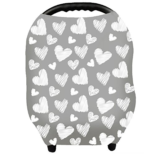 Nursing Cover - Breastfeeding Cover Carseat Canopy for Baby Infant, Car Seat Covers for Babies by YOOFOSS - Canopy Baby For Car Seat