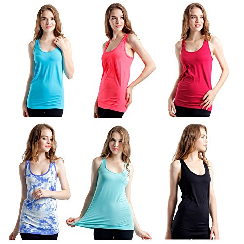 Semath Womens Workout Camisole Racerback product image