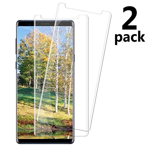 Price comparison product image [2 Pack] Samsung Galaxy Note 9 Tempered Glass Screen Protector,  invarsely [HD Clear][Anti-Bubble][9H Hardness][Anti-Scratch][Anti-Fingerprint] Screen Protector Compatible with Note 9
