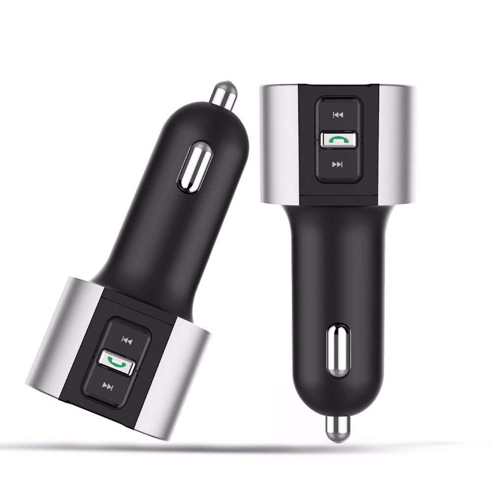 Mini USB Dual Car Charger,Businda Universal Intelligent Charging car-styling USB Charger for phone 2 Port USB Quick Car Adapter Suitable for Various Cars