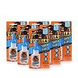 Gorilla 7805001-6 Super Glue (6 Pack), 15 g