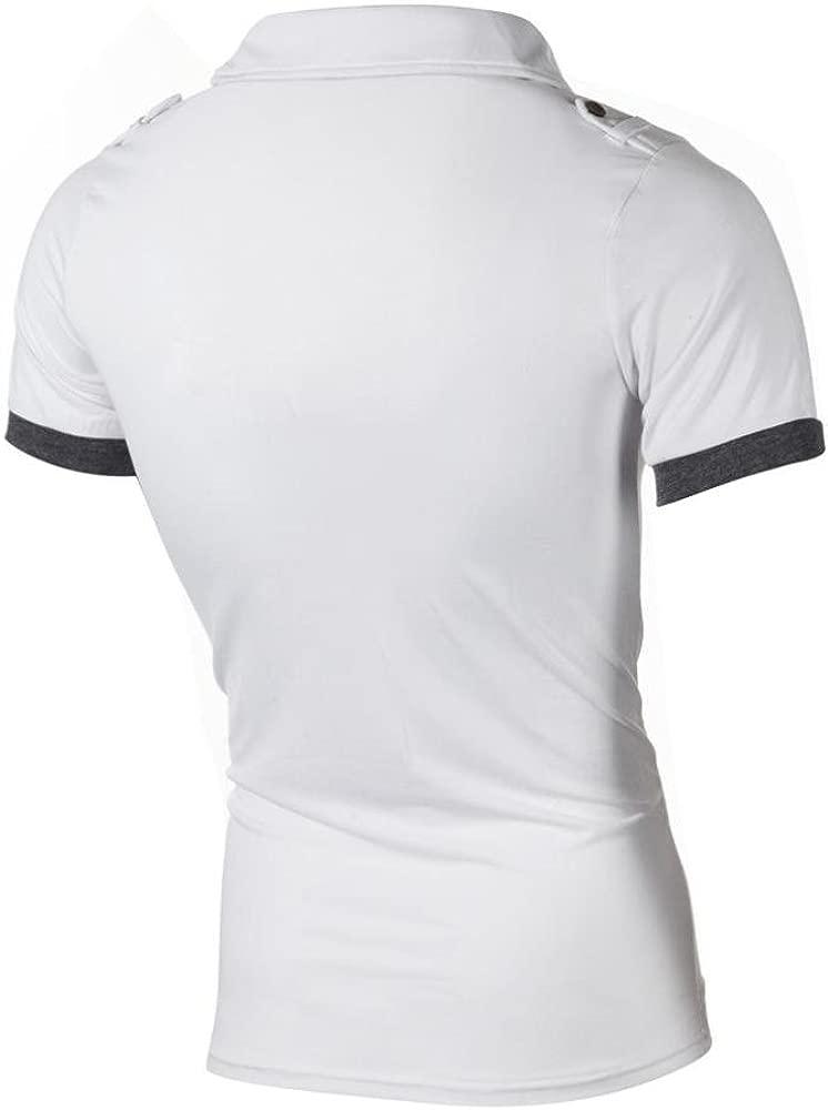 HUI.HUI Camisa t-Shirt tee Tops Blusa Hombre Personalizada Casual ...