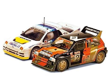 SuperSlot - Coche slot twin pack clásico Rallycross (Hornby S3267A)