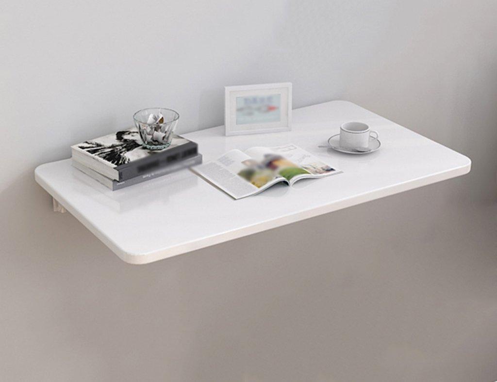 ホワイトダイニングテーブル壁掛け収納棚壁掛け折りたたみ式コンピュータデスク家庭用セットトップボックスラック ( サイズ さいず : 90cm*40cm ) B07BSYHZDR 90cm*40cm 90cm*40cm