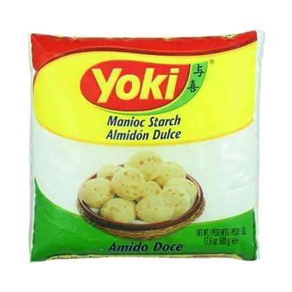 manioc almidón – polvilho Doce – Yoki – 17.6oz (500g) – sin ...