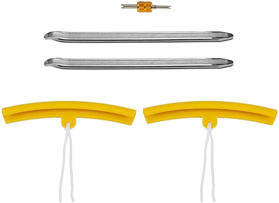 xnbnsj D/émonte-Pneu de Moto Outil de Protection de Valve de Roue Outil Polyethylene Rubber