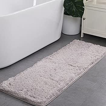 Amazon Com Uphome Shaggy Bath Runner Non Slip Ultimate