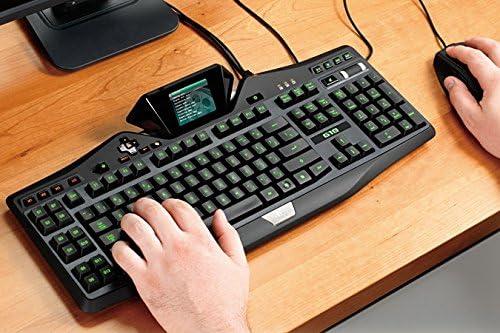 Logitech G19 - Teclado gaming con pantalla LCD integrada ...