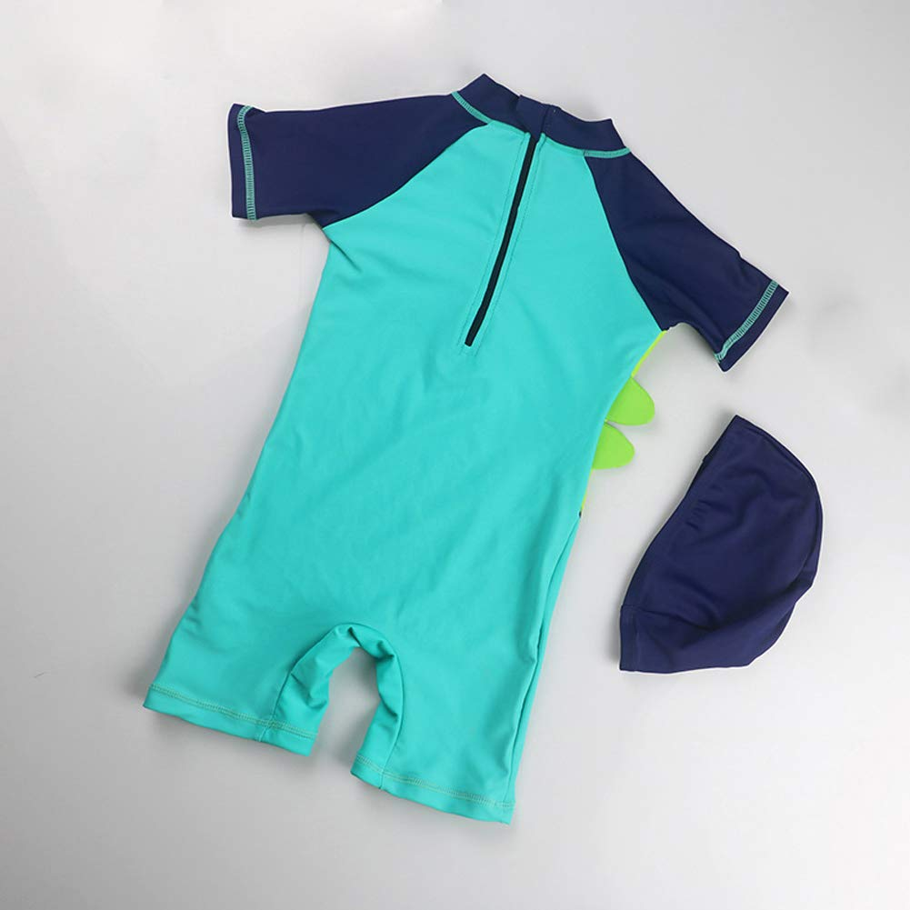 0d2d2b3497 Amazon.com: Baby Boy Swimsuit Toddler Swimsuits One-Piece Rash Guard Infant  Sun Protection Swimwear: Clothing
