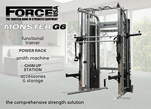 FORCE USA Monster G6 - Máquina de Smith Comercial, entrenador ...