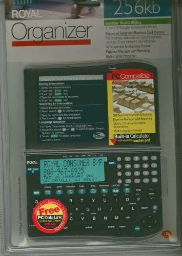 Royal DS2260 Organizer 256kb