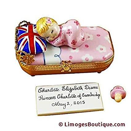 Amazon.com: Princesa Charlotte de Cambridge dormir – incluye ...