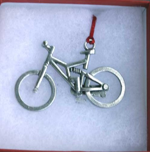 Full Suspension Mountain Bike Ornament (Cycling Christmas Ornament compare prices)