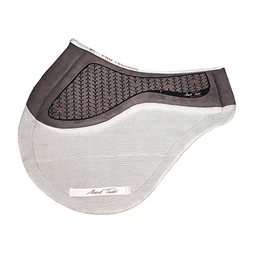 Mark Todd Saddlepad Protechnik Jump Saddle Pad Full Size White - Professional Jumping Saddle