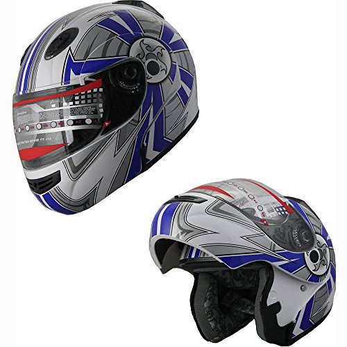 xl modular snowmobile helmet - 8