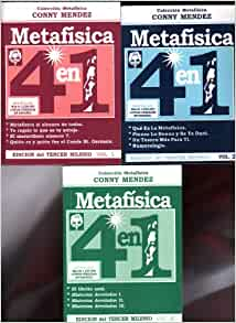 Metafisica 4 En 1 Vol 1 2 3 3 Books Conny Mendez Books