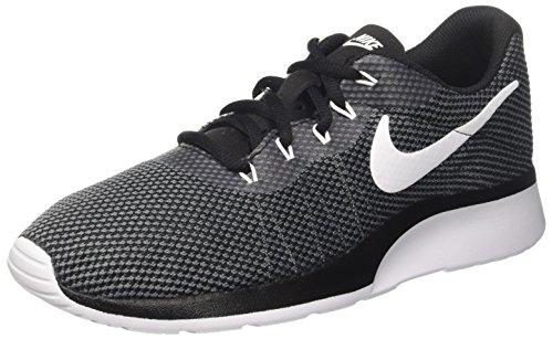 NIKE Men's Tanjun Racer Running Shoe (11 D(M) US, Dark Grey/White/Black) by NIKE