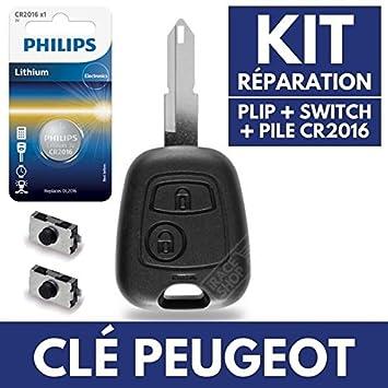Caja Plip mando a distancia carcasa para llave de Peugeot ...