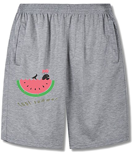 Swimming In The Watermelon Sea Shorts Pants For man gray