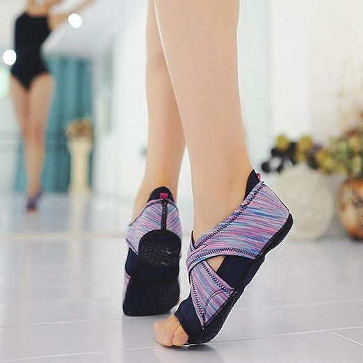 Toning-schuh Fitness Professionelle Frauen Nicht-slip Indoor Dance Pilates Yoga Gummiband Schuhe