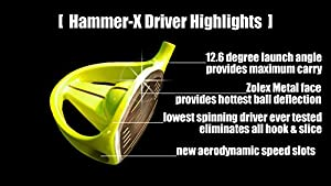 Hammer 500 ZX Driver (Right Hand)