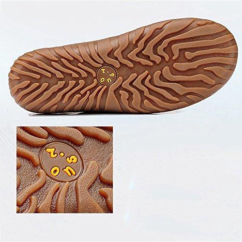 D ZHANGRONG Moda de Moda Señoras Zapatillas Sandalias UK4 Antideslizante A Las 5 Color EU37 Tamaño CN37 Sandalias de Verano 5 1SSHdWq