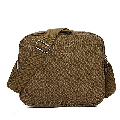 Bolsas de lona para hombres, Kukul Bolsos de hombro - 2017 Men's Crossbody Bag (26.5CM*10.5CM*23CM) C