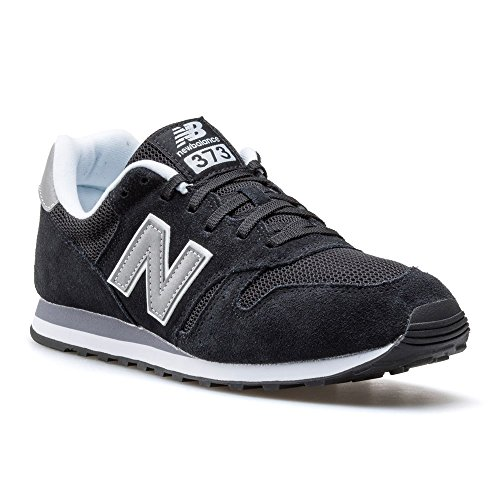 Schwarz New 373 White Silver Black Sneaker Balance Herren BqZqFI