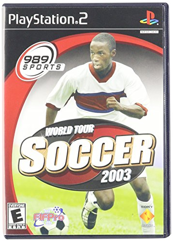 World Tour Soccer 2003 PS2 (Class World Soccer Ball)
