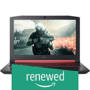 (Renewed) Acer Nitro AN515-31 15.6-inch Notebook (Core i7 8550U/8GB/1TB/Windows 10/2GB Graphics), Black