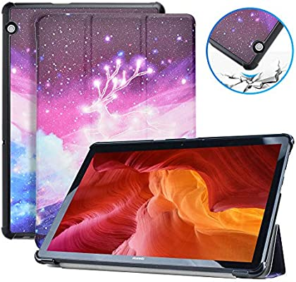 KATUMO Funda Carcasa para Huawei MediaPad T5 10,Soporte Protectora Cover Tablet PC Holder para Huawei MediaPad T5 10 10.1