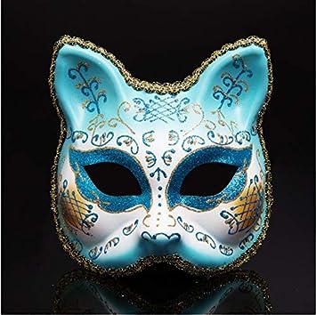 Fiesta de Disfraces de Carnaval de Halloween Adulto Máscara de ...