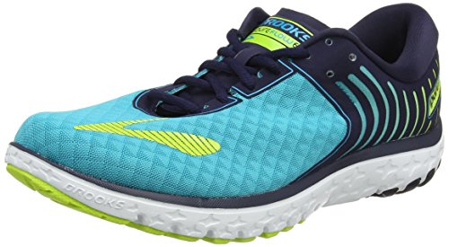 Peacoat Multicolore Bluebird de Femme Course Brooks PureFlow Chaussures Limepunch 6 YUppq8