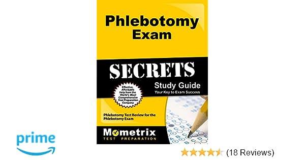 phlebotomy exam secrets study guide phlebotomy test review for the rh amazon com phlebotomy study guide 2016 Phlebotomy Test