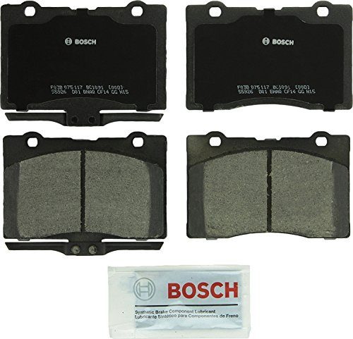 Bosch BC1091 QuietCast Premium Ceramic Front Disc Brake Pad Set