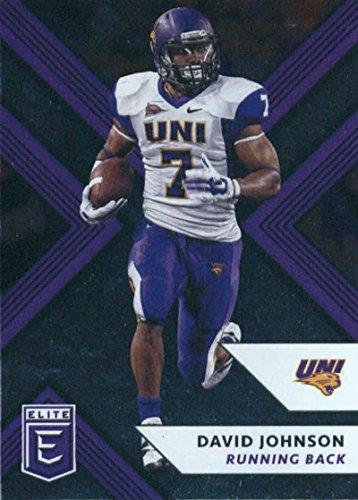 (2018 Panini Elite Draft Picks #27 David Johnson Northern Iowa Panthers Football Card)