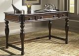 Liberty Furniture 720-HO107 Kingston Plantation Office Writing Desk, 54″ x 28″ x 31″, Cognac