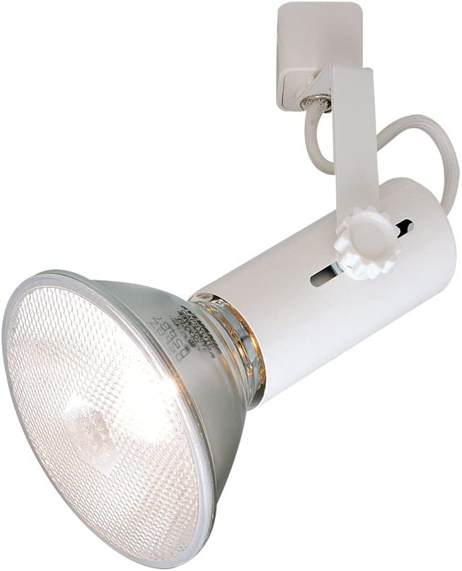 Operates PAR38 White Compatible with Halo Track 120 Volt Universal Lamp Holder Nora Track Light NTH-109W