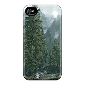 Awesome Skyrim Into The Forest Flip Cases With Fashion Design For Iphone 6
