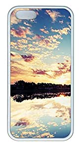iPhone 5S Case, iPhone 5 Cover, iPhone 5S Reflection In The Lake Soft Cases