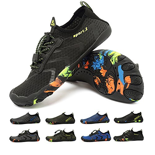 Mens Water Shoes Quick Dry Barefoot Aqua Socks Pool Beach Walking Yoga Swim US12