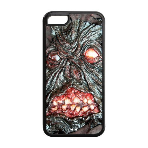 5C Phone Cases, Evil Necronomicon Hard TPU Rubber Cover Case for iPhone 5C