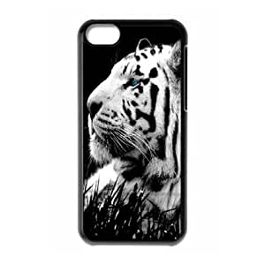 DIY Unique Print Design WYF049750 Phone Case With tiger For Iphone 5C Hard Shell Protection