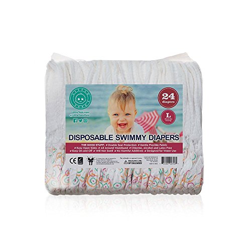 (Little Toes Disposable Swimmy Diapers (Large, 24 Count))