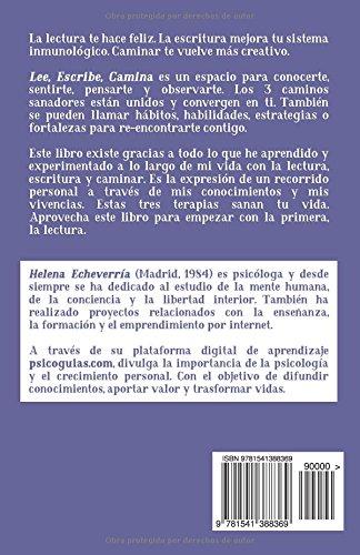 Lee escribe camina spanish edition helena echeverria lee escribe camina spanish edition helena echeverria 9781541388369 amazon books fandeluxe Gallery