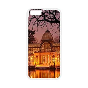 Kweet Dome Building IPhone 6 Cases for Girls Protective, Luxury Case for Iphone 6 Case [White]