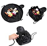 Best Makeup Bags - Lazy Cosmetic Bag, ONEGenug Makeup bag, Drawstring Design Review