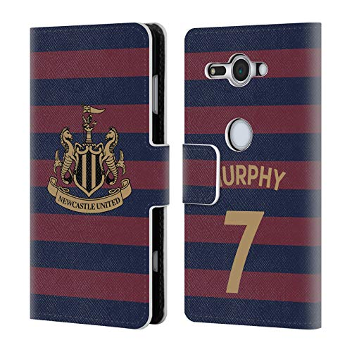 Wallet Compact Murphy (Official Newcastle United FC NUFC Jacob Murphy 2018/19 Players Away Kit Group 1 Leather Book Wallet Case Cover for Sony Xperia XZ2 Compact)